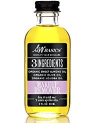 S.W. Basics Makeup Remover, Organic, Natural, and Gentle...