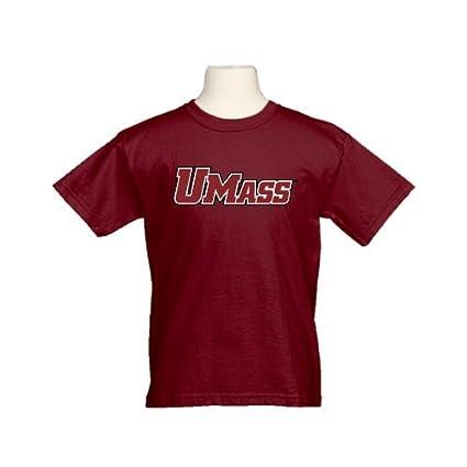 Amazon com : CollegeFanGear UMass Amherst Youth Maroon T Shirt