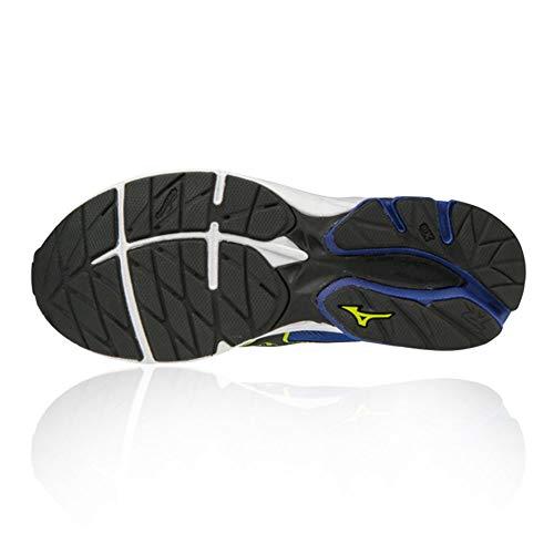 de Rider Blue JNR Mizuno Enfant Chaussures Mixte Running Wave 21 gx4q7PqA