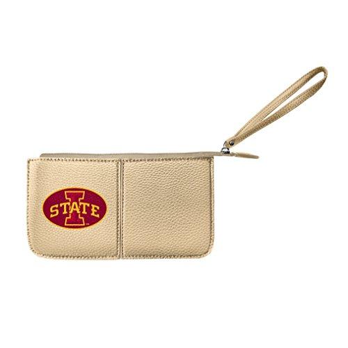 - NCAA Iowa State Cyclones Pebble Wristlet