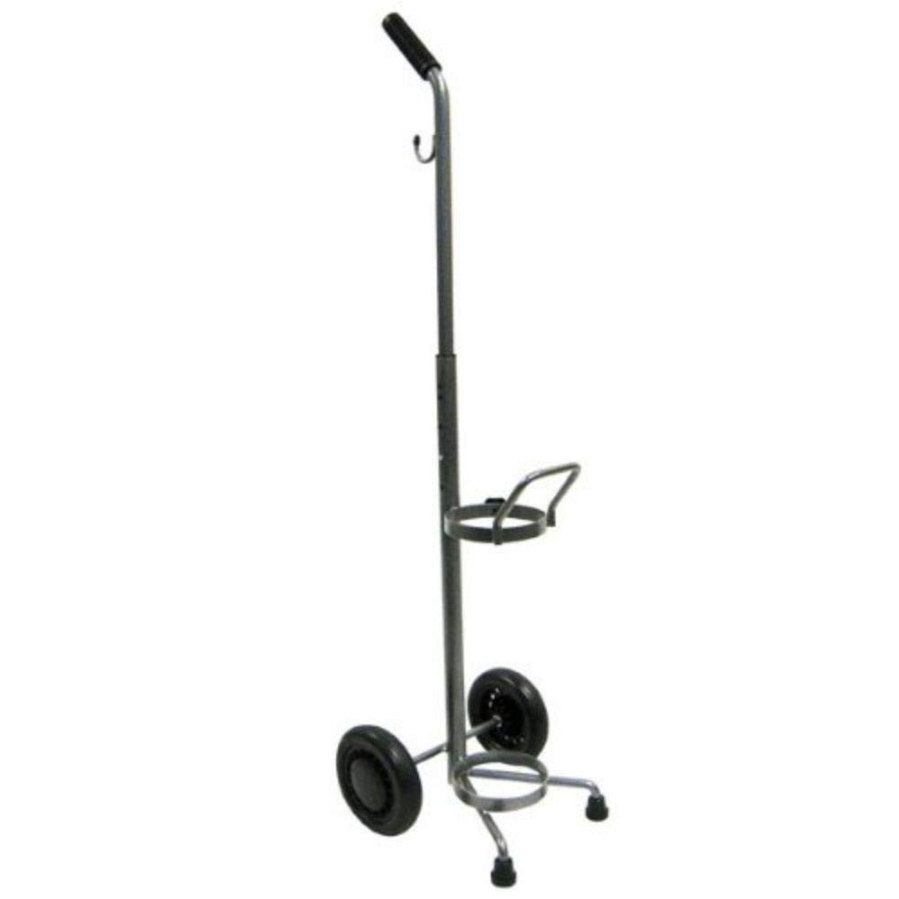 Rolling 2 Two Wheel Oxygen Tank Cylinder Cart Carrier