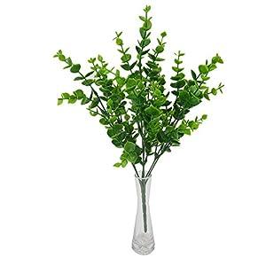 dxS8hhuo Artificial Plant | 1Pc Artificial Fake Money Leaves Flower Silk Wedding Banquet Party Home Decoration 6