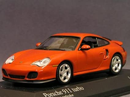 Minichamps 1/43 Porsche 911 (996) Turbo/ORANGE Porsche
