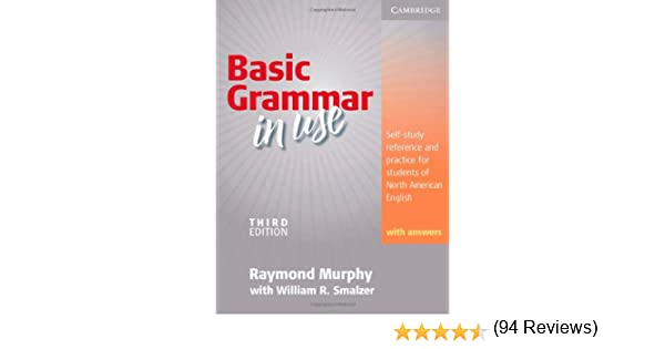 Basic Grammar in Use, Students' Book With Answers: Self-study ...