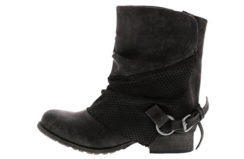 Engineer Jellypop Lucin Women's Black Boot Oq7q6TwxU