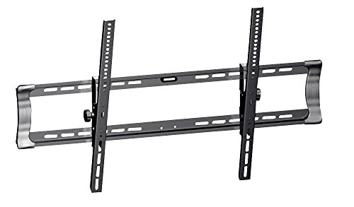 Universal Tilting TV Wall Mount - Slim Quick Install VESA Mounting Bracket for TV Monitor, Mounts 42 to 65 Inch HDTV, LED, LCD, Plasma, Flat, Ultrawide Smart Television Up to 75 KG - Pyle PSW321MT