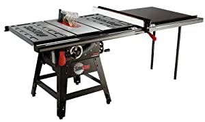 Sawstop  CNS175-TGP52  1-3/4 HP Contractor Saw with 52-Inch Professional T-Glide Fence System including Rails and Extension Table