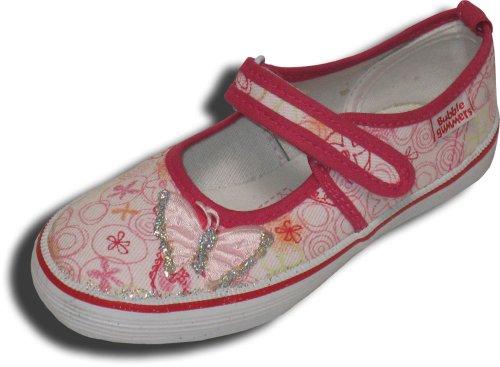 Beck Heart 319 - Zapatillas de deporte de lino para niña Rosa