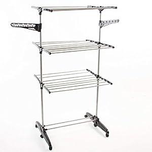 etendoir linge grand capacit et pliable tendoir immense et pratique. Black Bedroom Furniture Sets. Home Design Ideas