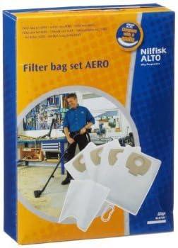 NILFISK 302002404-Bolsa para aspirador 4 bolsas de poliestireno, 1 ...