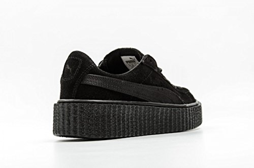 Puma Womens Fenty by Rihanna Black Suede Creepers Satin Rihanna 36226801 Sneakers Shoes 8kzQ49