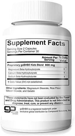 Berkeley Dietary Keto, BHB Salts& 800mg Proprietary Blend (1) 3