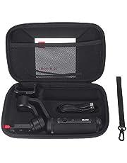rcraftn Custodia da Viaggio Nera Organizer Custodia Protettiva per Telefono e Accessori Custodia Protettiva per custodie per Fotocamera cardanica Zhiyun Smooth Q2 Smart Phone