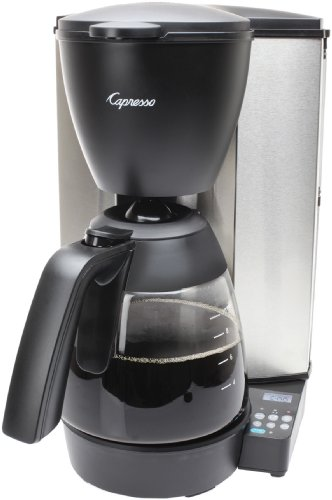 (Capresso 484.05 MG600 Plus 10-Cup Programmable Coffee Maker with Glass Carafe)