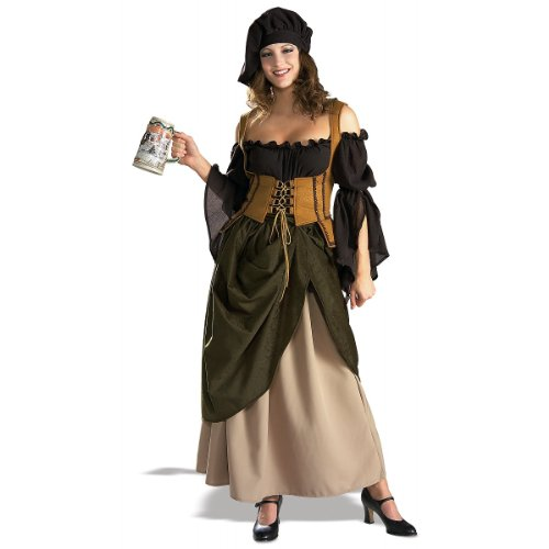 Tavern Wench Adult Costume - (Wench Costume Ideas)