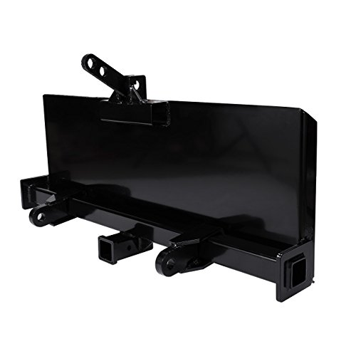 BEAMNOVA Skidsteer 3 Point Attachment Adapter Skid Steer hitch front loader 129 LB HD by BEAMNOVA