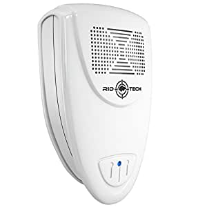 Rid Tech Ultrasonic Pest Repeller - Repels Rodents and Insects