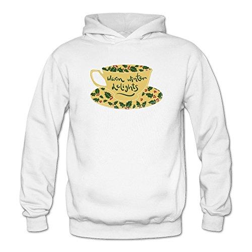 Christmas Mistletoe Pattern Coffee Sweatshirt
