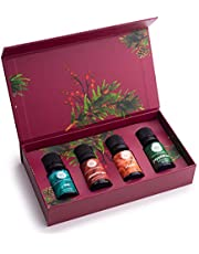 Woolzies Gift Set of 6 Popular Essential Oils, Lavender, Sweet Orange, Lemon, Eucalyptus Citradora, Peppermint & Tea Tree Manufacturer: Woolzies Home Essentials, Inc.