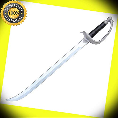 Foam Halloween Costume Cutthroat Life Pirate LARP Cosplay Pretend Cutlass Sword perfect for cosplay outdoor camping