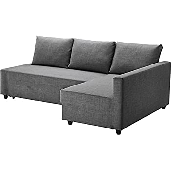 The Light Gray Friheten Thick Cotton Sofa Cover Replacement is Custom Made for IKEA Friheten Sofa Bed, Or Corner, Or Sectional Slipcover. Sofa Cover ...