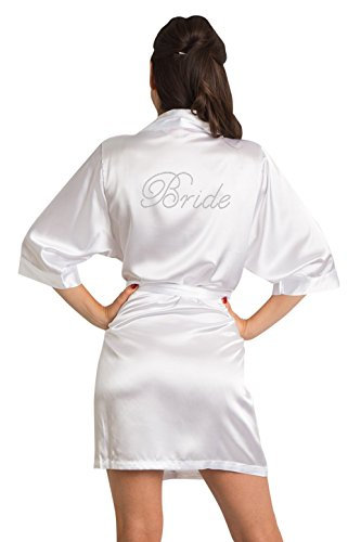 White Vestaglia Zynotti Vestaglia donna Zynotti donna Bride White Bride Zynotti Vestaglia rq1qW7ZwP