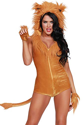Jungle Themed Costumes (Dreamgirl Women's Queen of The Jungle, Costume,)