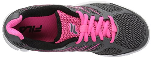 Fila Women's 3a Capacity Running Shoe Dark Silver/Knockout Pink/Black syIcqTJ