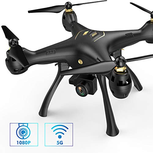DROCON-DC-08-5G-WiFi-FPV-Drone-1080P-Full-HD-Camera-Screwdriver-Free-RC-Quadcopter-for-Beginners-Gyroscope-GPS-Auto-Return-Follow-Me-Circle-Me-420M-Transmission-Outdoor-Drone-Geofence-Limit