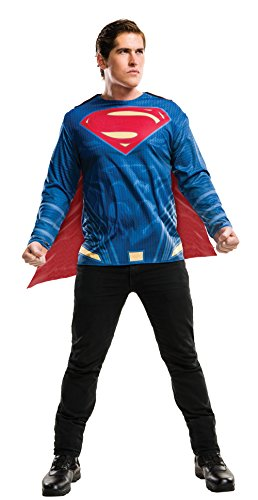 [Rubie's Costume Co. Men's Superman Adult Costume Top, As Shown, X-Large] (1950's Superman Costume)