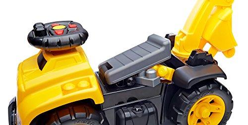41a3hpH1C1L - Mega Bloks Ride On Caterpillar with Excavator