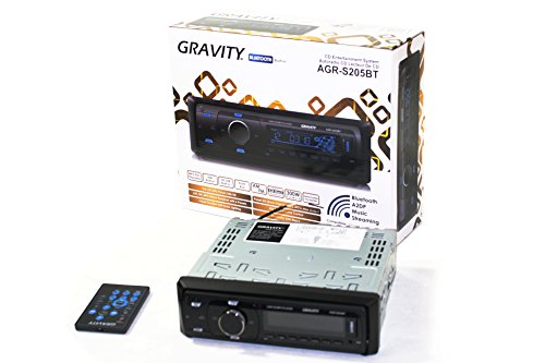 GRAVITY AGR-S205BT Car Entertainment System CD-Receiver Buil
