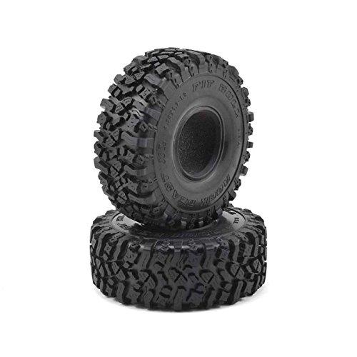 Pit Bull RC 1.9 Rock Beast XL Scale Crawler Tire & Foam, Alien Kompound (2) (Rc Pit Bull Tires)