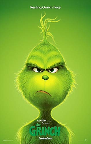 THE GRINCH MOVIE POSTER 2 Sided ORIGINAL Version