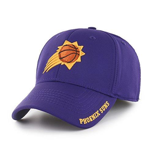 NBA Phoenix Suns Adult Start Line Ots Center Stretch Fit Hat, Large/X-Large, Purple ()