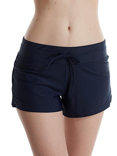 YANGGIN Women's Swimming Shorts Swimwear Boyshort Bikini Bottom Sports Panty