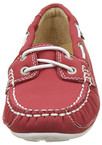 5 Womens On UK Red Slip Ariaprene Bala Sebago Shoes qEI0Y