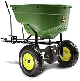 John Deere 130-lb Capacity Tow-behind Lawn Spreader
