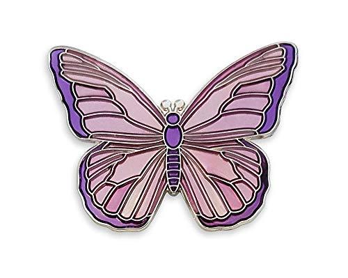 Enamel Butterfly Pin - Pinsanity Butterfly Enamel Lapel Pin