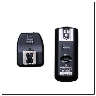 Yongnuo 2.4GHz Wireless Flash Trigger/Receiver and Shutter Remote for Canon 1D/5D/7D/10D/20D/30D/40D/50D DSLR