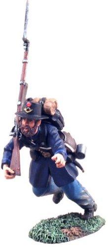 - Union Infantry Iron Brigade Advancing #2--single figure