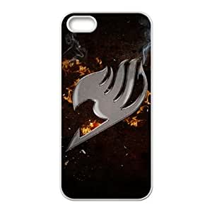 Fairy Tail Iphone 5 5S Cell Phone Case White JNC556C2