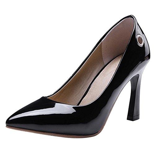 Chaussures talons pour noir hauts Fahsion Coolcept femmes à 1awCadxq