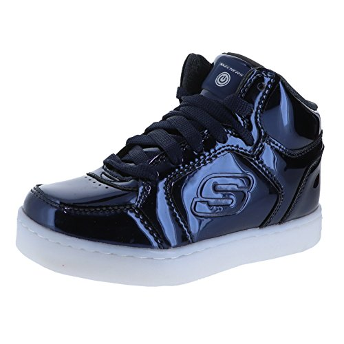 Skechers Kids Unisex Energy Lights Eliptic 90603L (Little Kid/Big Kid) Navy 12 M US Little Kid M