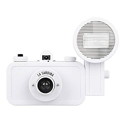 Lomography La Sardina and Flash DIY - 35mm film camera
