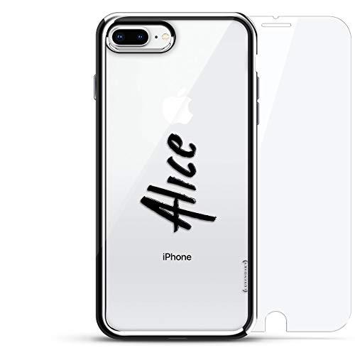 Diseño de lujo, impresión 3D, moda, alta calidad, borde chapado en cromo, 360 protecciones con vidrio templado teléfono...