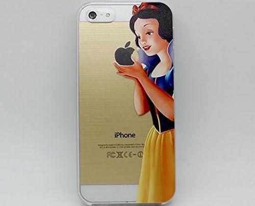 Cover rigida trasparente per iPhone 5/5S, motivo: Biancaneve - Disney
