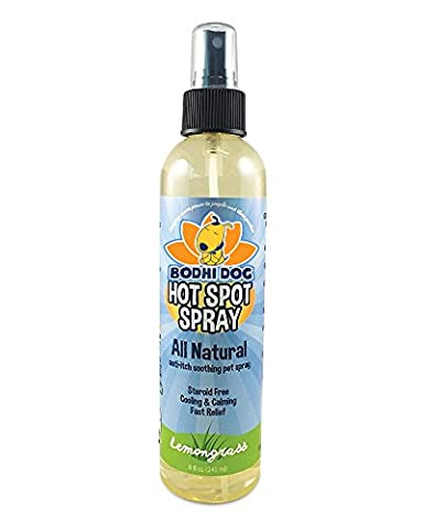 NEW All Natural Pet Hot Spot Spray | Soothing Plant Based Dog Treatment | Healing Allergies Anti Itch Dry Skin Relief for Dog | PROFESSIONAL GRADE QUALITY - Made in USA - 1 Bottle 8oz (Dog Conditioner For Poodles)