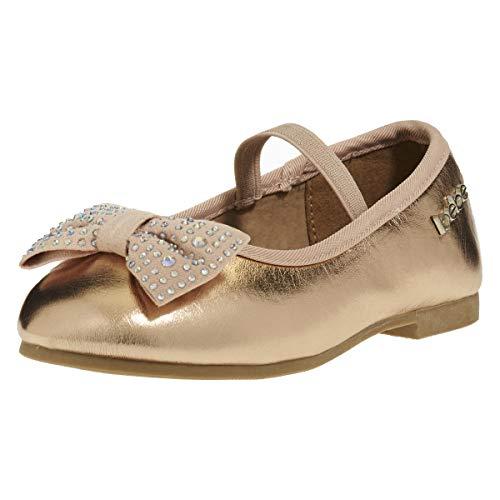 Pictures of bebe Toddler Girls Ballet Flats Size 9 Rose Gold 9 M US Toddler 5