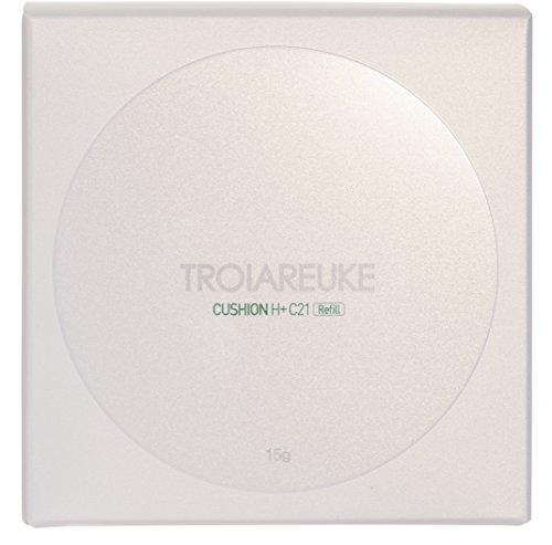 TROIAREUKE H+ Cushion Foundation Refill 15 Gram, 21 Light -